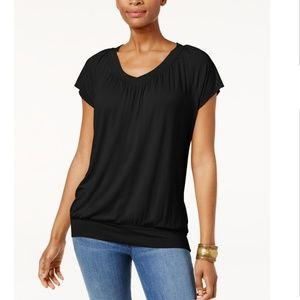 JM Collection Tops - JM COLLECTION Blouson T-Shirt